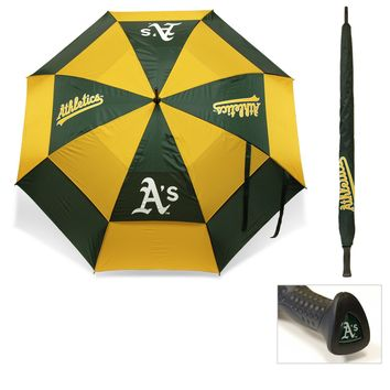 MLB Oakland Athletics Umbrella Golf Double Canopy