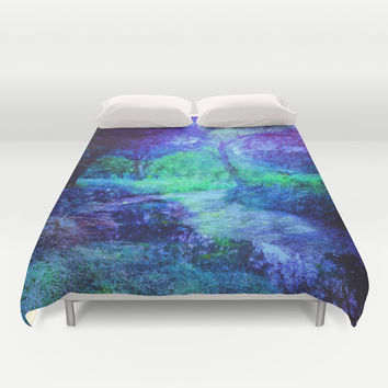 Creekbed Duvet Cover by DuckyB (Brandi)