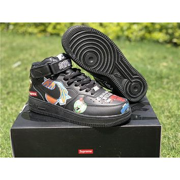 Nike Air Force 1 X Supreme X Nba Sneaker Shoe | Best Deal Online