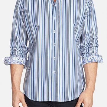 Men's Robert Graham 'Banzai Rocks' Classic Fit Stripe Sport Shirt,