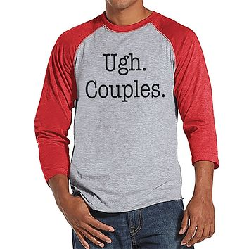 Custom Party Shop Men's Ugh Couples Funny Raglan Shirt