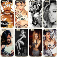 "Sexy Girls Rihanna mobile cell phone case  for apple iphone 6 4.7"" 5.5"" plus"