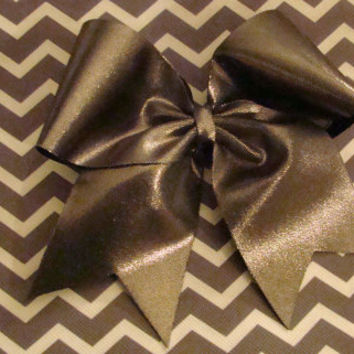 Chrome Mystic Cheer Bow by isparklethat on Etsy