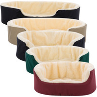 Dog Couches » Canine Cushion Orthopedic Fabric and Fleece Dog Bed | PetSmart