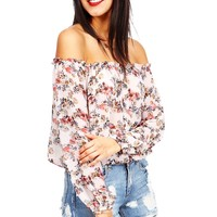 Blossom Peasant Blouse