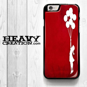 Banksy Graffiti Panda for iPhone 4 4S 5 5S 5C 6 6 Plus , iPod Touch 4 5  , Samsung Galaxy S3 S4 S5 S6 S6 Edge Note 3 Note 4 , and HTC One X M7 M8 Case
