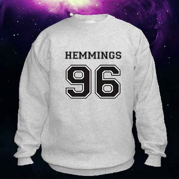 Luke Hemmings 96 sweater Sweatshirt Crewneck
