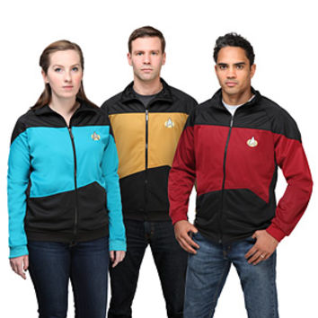 Star Trek TNG Unisex Track Jacket - Exclusive