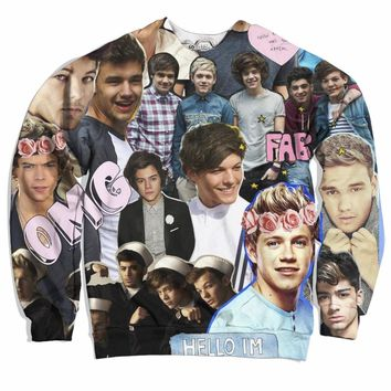 One Direction ASF Collage Sweater