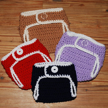 Crochet Diaper cover newborn 03 36 612 by BitofWhimsyCrochet
