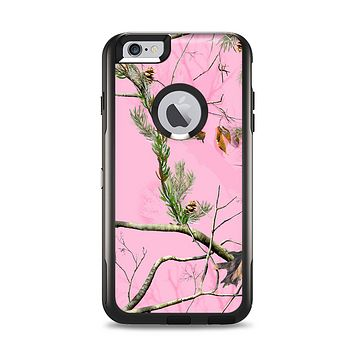 The Pink Real Camouflage Apple iPhone 6 Plus Otterbox Commuter Case Skin Set