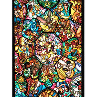 Disney Stained Glass iPhone 5c Cases- Hard Plastic, Rubber Case