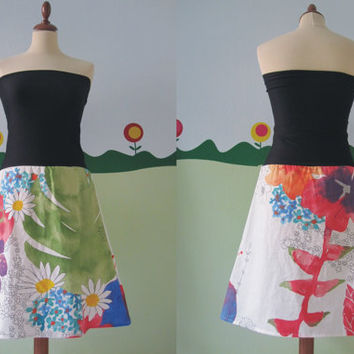 Flowers Dress by TheButterfliesShop on Etsy