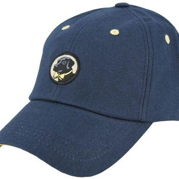 Cocktail Cap in Navy Linen by Southern Proper