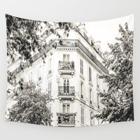 Paris France Architecture Wall Tapestry