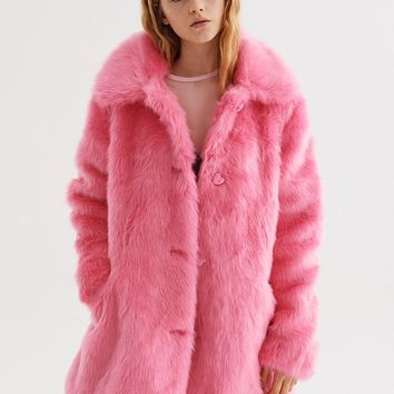 Lazy Oaf Fur Bear Coat