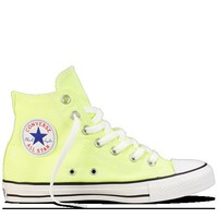 Washed Neon Yellow Chuck Taylor Washed Neon : Converse Hi Tops | Converse.com