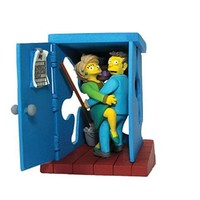 Simpsons Series 5 Valentines Day Skinner & Krabapple Bust-Ups Action Figure