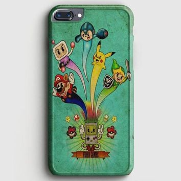 Nintendo Video Game Art iPhone 8 Plus Case | casescraft