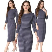 Emotion Moms Party maternity clothes maternity dresses pregnancy clothes for Pregnant Women nursing dress Breastfeeding Dresses