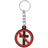 Bad Religion Buster Rubber Key Chain Black
