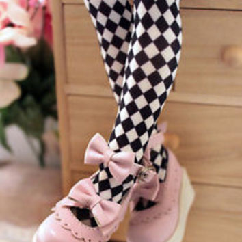1/4 bjd girl doll pink color lolita shoes msd dollfie dream #S-91M
