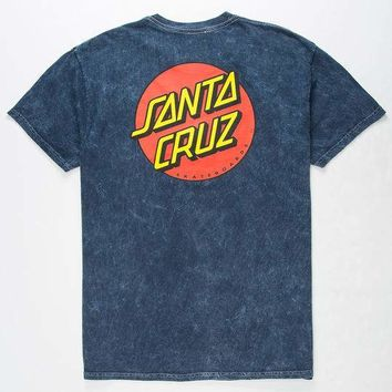 SANTA CRUZ Classic Dot Mens T-Shirt