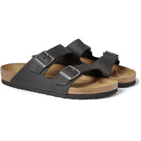Birkenstock - Arizona Matte-Leather Sandals | MR PORTER