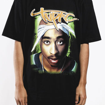 Deadstock Vintage Tupac Saturation T Shirt Sz XL – F As In Frank Vintage