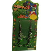 Dr. Seuss Grinch Dangle Earrings