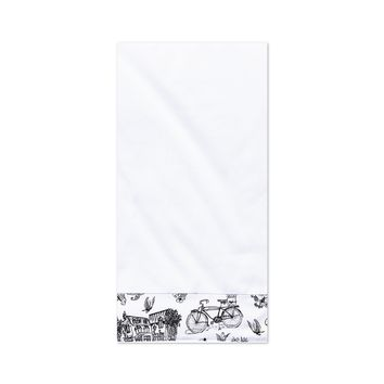 Cafe Toile Tea Towel