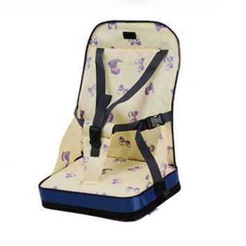 4 colors Fashion Portable Booster Seats Baby Safty Chair Seat Portable Travel High Chair Dinner Seat