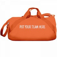 Put Your Team Here Canvas Bag