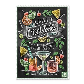 2019 Craft Cocktails Calendar