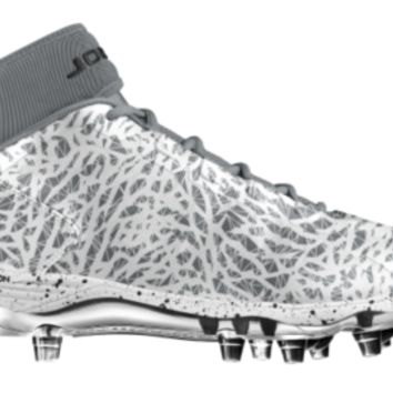 Nike Jordan Dominate Pro TD 2 Chrome iD Custom Men's Football Cleats - Grey