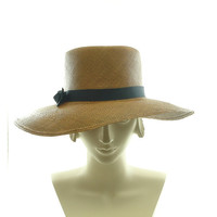 Fedora Summer Hat for Women 1960s Fashion by TheMillineryShop