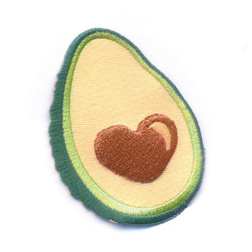 PRE-SALE - Avocado 3D Patch - I Love Avocados