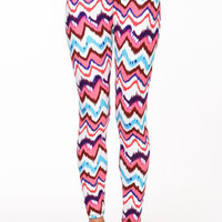 Color Waves Leggings - LoveCulture