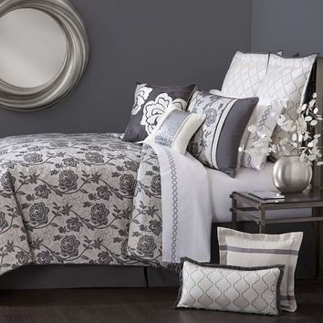 Marquis by Waterford Caitlyn 4-pc. Comforter Set (White)