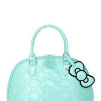 Loungefly - Hello Kitty Mint Patent Embossed Bag