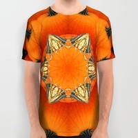 Pumpkins all around All Over Print Shirt by RVJ Designs