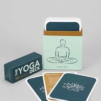 Yoga Positions Card Set - Blue One