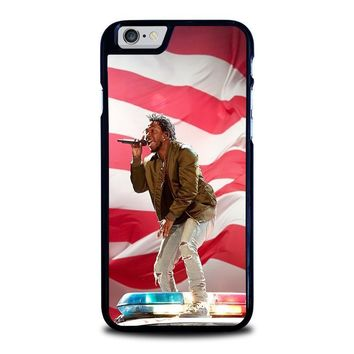 kendrick lamar tour show iphone 6 6s case cover  number 1