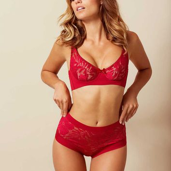 Audrey Big Brief Red