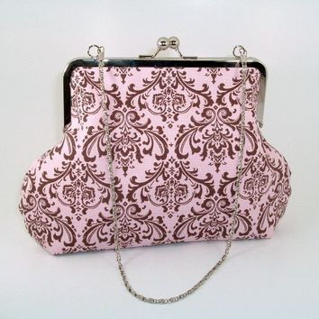 DECADENT DAMASK Handbag by BitsandPurses on Etsy