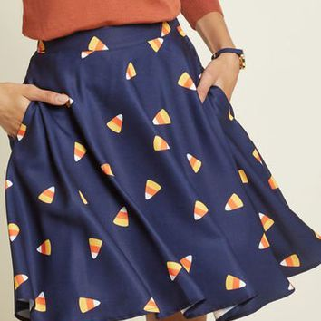 Your Festive Best A-Line Skirt