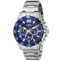 Invicta 16286 Men's Specialty Chronograph Blue Dial Steel Bracelet Watch