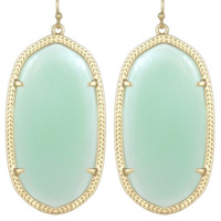 Kendra Scott Danielle Earrings In Chalcedony Mint