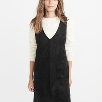 Womens Vegan Suede Dress | Womens New Arrivals | Abercrombie.com
