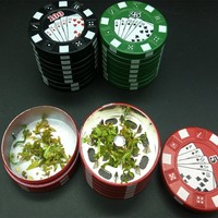 The Ultimate Poker Chip Herb Grinder